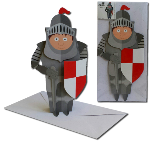 3D Card Type Knight